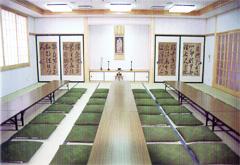 地蔵院会館西山園広間