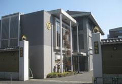 常性寺会堂外観