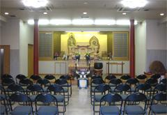 新隆寺法要殿観音堂式場