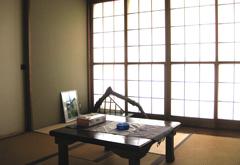 新隆寺法要殿観音堂2階茶室