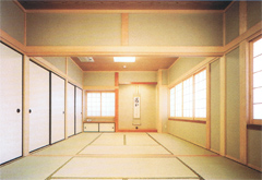 薬林寺会館和室