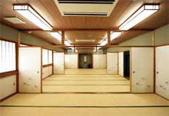 常念寺栗平会館第一斎場和室