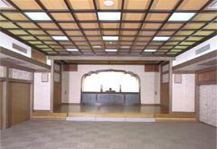 円融寺示真殿1階式場
