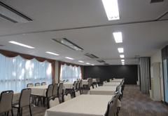青山葬儀所控室