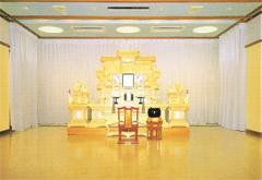 新井白石記念ホール1階式場