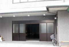 正蔵院会館1階式場入口