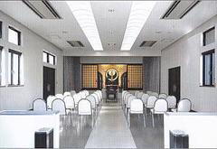 浄弘寺門信徒会館1F式場
