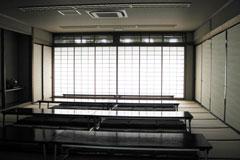 浦和斎場待合室