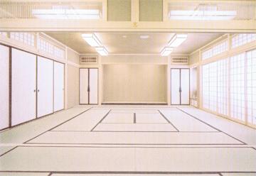 久遠寺光明閣2階書院