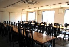 瀧田会館2階第一式場客席
