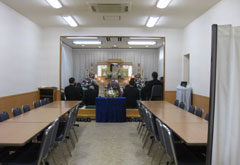 谷塚斎場星館での葬儀紹介例