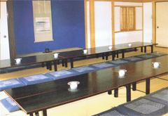 妙正寺会館控室