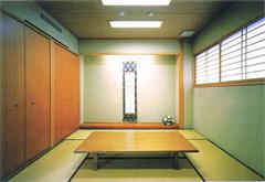 寛永寺輪王殿和室控室